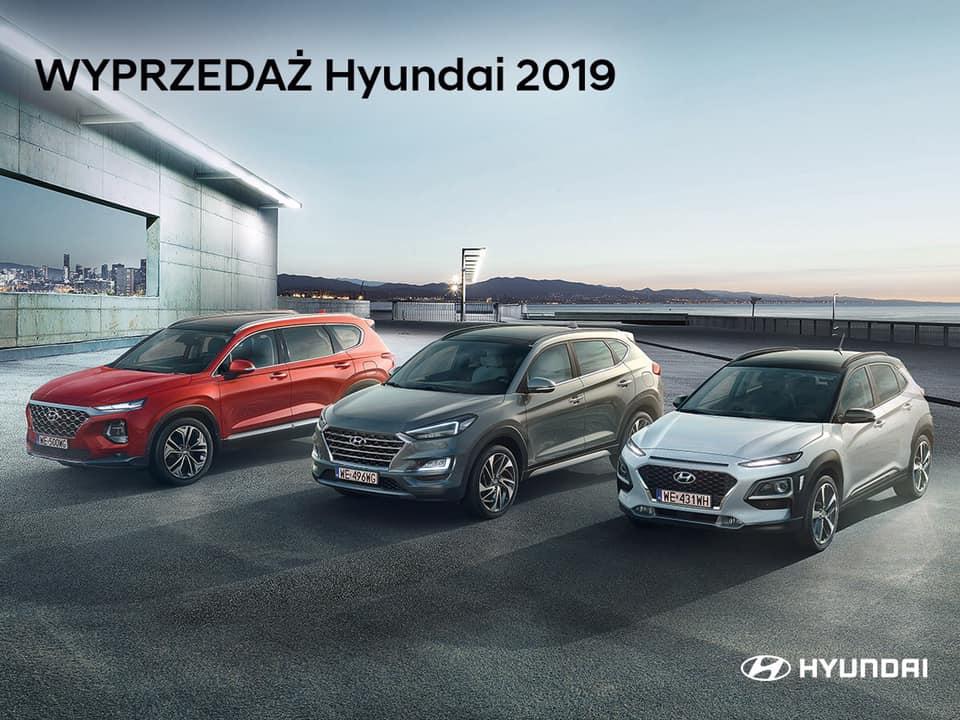 Wyprzedaż Hyundai 2019