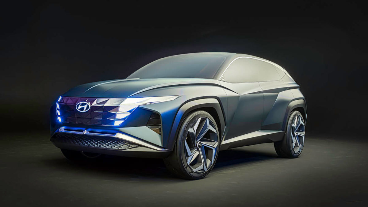 SUV Hyundai Vision T - prototyp